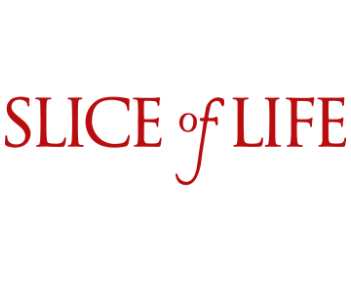 SLICE of LIFE кусочек жизни надпись