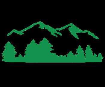 Горы лес 2