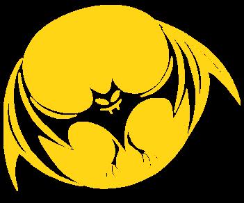 Летучая мышь луна