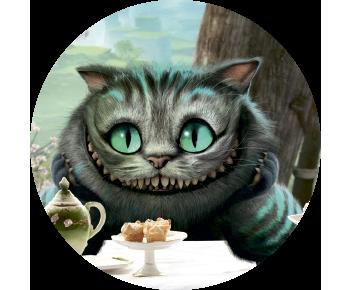 На запаску чеширский кот улыбка