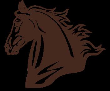 Конь профиль