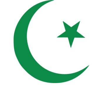 Месяц и звезда-мусульманский символ