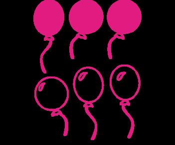 Выписка-набор с шарами