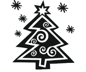 Новогодняя ёлка 4
