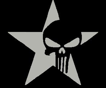 Звезда  punisher каратель