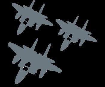 Истребители полет