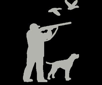 Охотник и собака 4