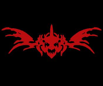 Узор на борт дракон