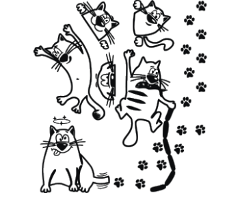 Кошки набор