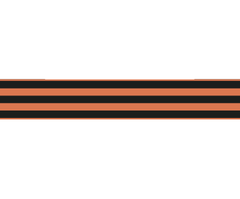 Георгиевская лента прямая 2