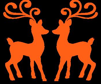 Новый год олени