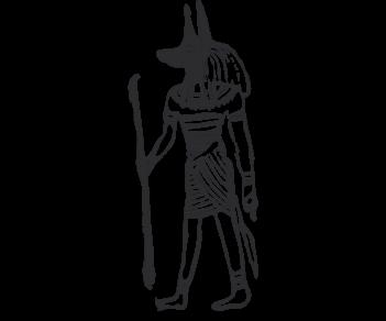 Анубис Египетский бог