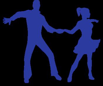 Танцевальная пара танцы