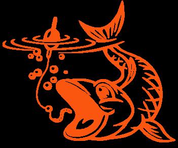 Рыба на червячка