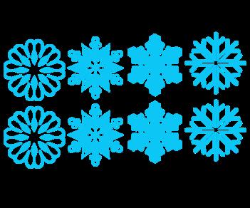 Снежинки 2