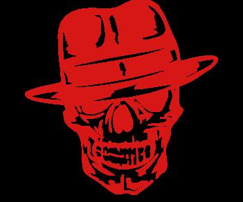 Череп в шляпе
