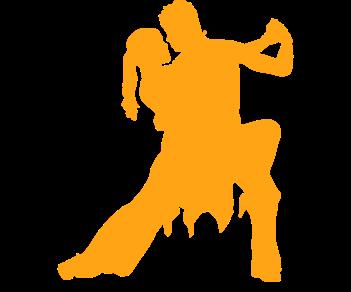Танцевальная пара самба
