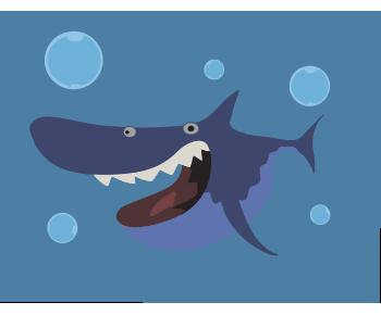 Акула океан