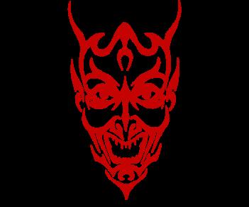 Дьявольская маска