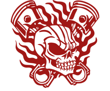 Поршни череп