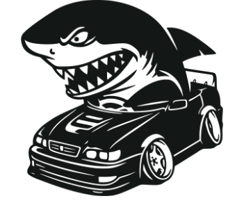 Акула за рулем