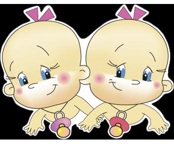 Двойняшки девочки выписка из роддома