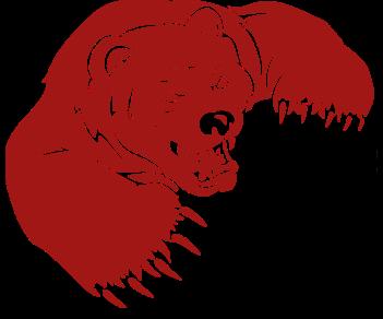 Медведь нападает