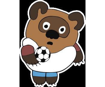 Винни Пух футбол