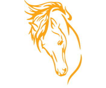 Лошадь силуэт 4