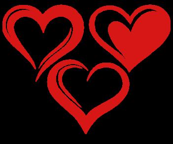 Сердца набор 2
